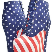 Jeffrey Campbell damsel star and stripes