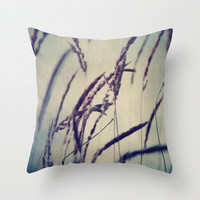 Autumn Air Throw Pillow by Sandra Arduini