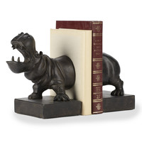 Hippo Book End