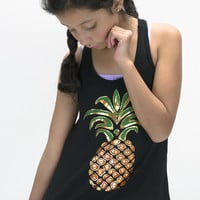 Pinapple Graphic Tank | Girls