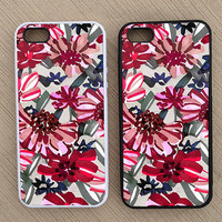 Floral Pattern iPhone Case, iPhone 5 Case, iPhone 4S Case, iPhone 4 Case - SKU: 205
