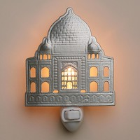 Handcrafted Metal Taj Mahal Night Light