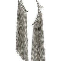 Oscar de la Renta Tendril Drop Clip-On Earrings | Nordstrom