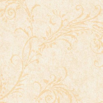 Brewster Wallpaper SIS40524 Cream Rice Paper Scroll