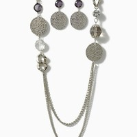 Metal Muse Necklace Set | Silver Jewelry | charming charlie