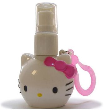 (12 Pcs/Lot) Hello Kitty Plastic Water Bottle Small size Perfumes Atomizer