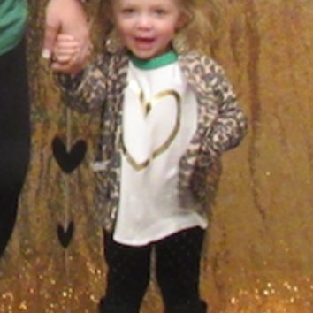Baby & Youth Leopard Cardigan with Pockets