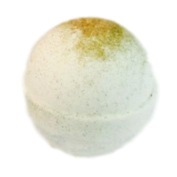 FRENCH PEAR SHEA INFUSED BATH BOMB
