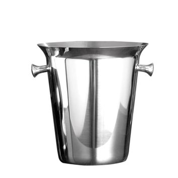 Stainless Steel 5L/169.09oz Ice Bucket Wine, Champagne, Beer Chiller Ice Barrel