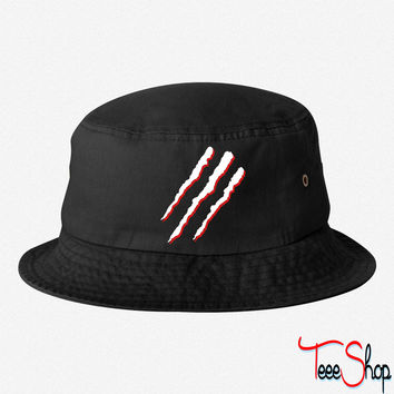 Claw Marks bucket hat