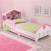 Pink Dollhouse Toddler Bed by KidKraft