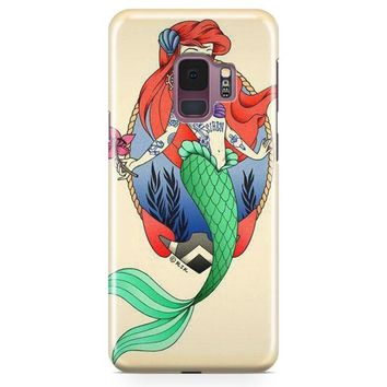 Punk Ariel Samsung Galaxy S9 Plus Case | Casefantasy