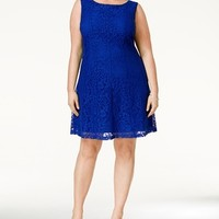 Connected Plus Size Lace A Line Dress - 38% off, found on sale for 54.99, @MACYS