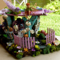 Miniatures Fairy Gardens, Fairy House, Fairy Garden accessories, Fantasy House
