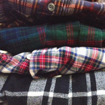 Mystery Vintage Men's Flannel Shirt