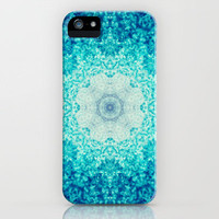 Blue Waves iPhone Case by Sandra Arduini | Society6