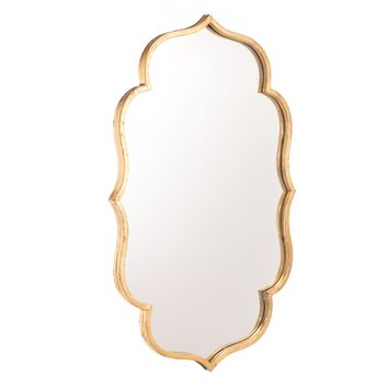 Gold Isa Wall Mirror