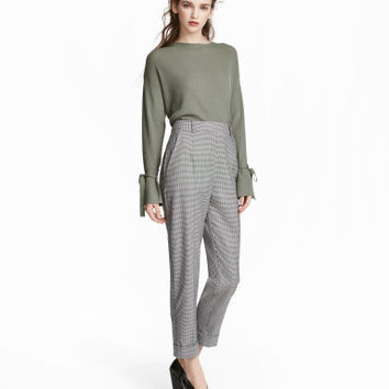 H&M Houndstooth Suit Pants $49.99