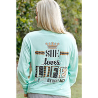Jadelynn Brooke She Loves Life Long Sleeve Tee