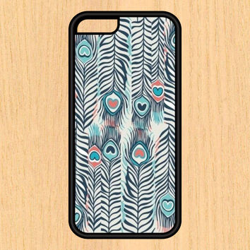 Watercolor Feathers Pattern Design Art iPhone 4 / 4s / 5 / 5s / 5c /6 / 6s /6+ Apple Samsung Galaxy S3 / S4 / S5 / S6