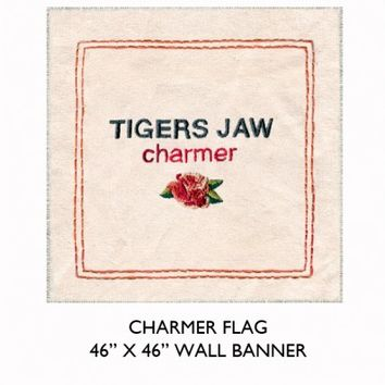 "Tigers Jaw - Charmer 46""x46"" Flag - Posters / Banners"