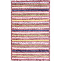 Colonial Mills Seascape Blossom Striped Braided Rug - SE70