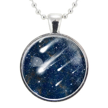 Shooting Star Meteor Wish Necklace