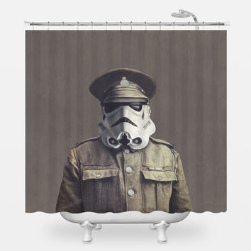 Sgt. Storm Shower Curtain