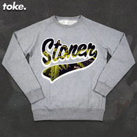 I CAME FROM NOTHING © — Toke - Stoner - Sweatshirt