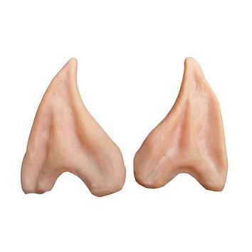 JECKSION 1Pair Pointed Fairy Elf Cosplay Halloween Ear Tips Accessoires De Halloween Party Props 5 #LSIW Macchar Cosplay Catalogue