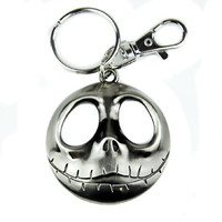 Jace Face with Open Eyes Keychain Nightmare Before Christmas Keyring Halloween