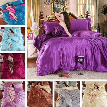 ac ICIK83Q On Sale Comfortable Bedroom Home Hot Deal Bedding Bed Sheet Quilt Case [9393098700]