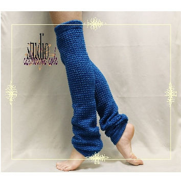 Leg warmers, DANCE CRUSH, boots, socks,  fall, yoga, ballerina, pliates, barre, socks,  teal  | LW02