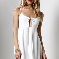Honey Punch Tie Front Cami Dress at PacSun.com