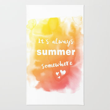 Always summer Rug by EDrawings38