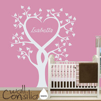 Unique Nursery Tree Wall Decal Personalized Wall by WallConsilia