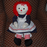 New 25 inch Raggedy Ann Doll Handmade with Love