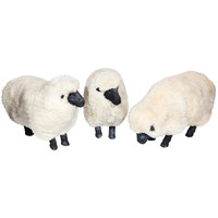Three Sheep Sculptures in the Style of Lalanne