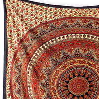 Large Mandala Fabric Hippie Bedspread Wall Hanging Bohemian Boho Wall Tapestries Home Decor Art