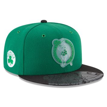 Men's Boston Celtics NBA18 All Star Game On Court Collection 9FIFTY Snapback Hat By New Era