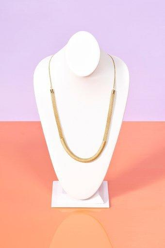 Wrapped Chain Necklace
