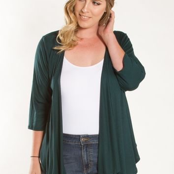 Blake Ribbed Cardigan
