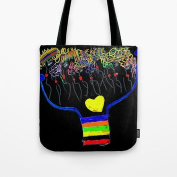 thoughtforms Tote Bag by Azima
