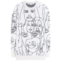 stella mccartney - embroidered sweater