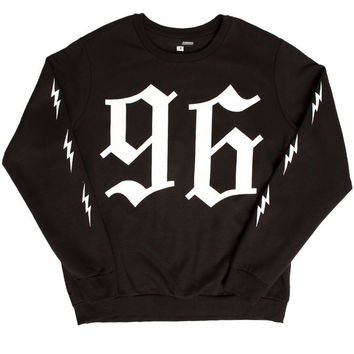 96 SWEATSHIRT BLACK