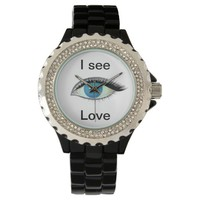 I watch and see love