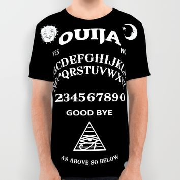 Ouija All Over Print Shirt by Nicklas Gustafsson | Society6