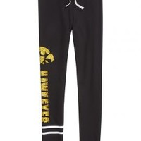 Iowa Hawkeyes Cuff Leggings | Girls {category} {parent_category} | Shop Justice