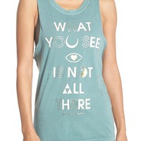 Spiritual Gangster 'What You See' Cotton Muscle Tank | Nordstrom