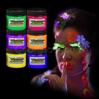 6ct Glominex Glow in the Dark Face an...